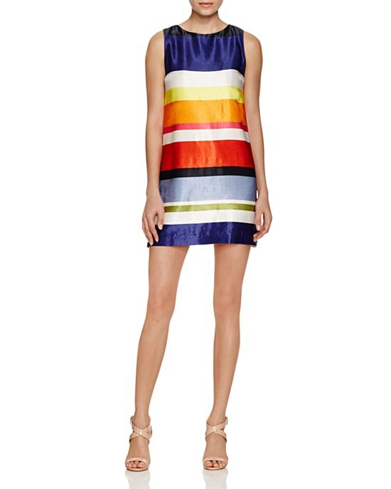 Clyde Striped Shift Dress
