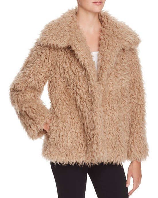 Fluffy Faux Fur Jacket