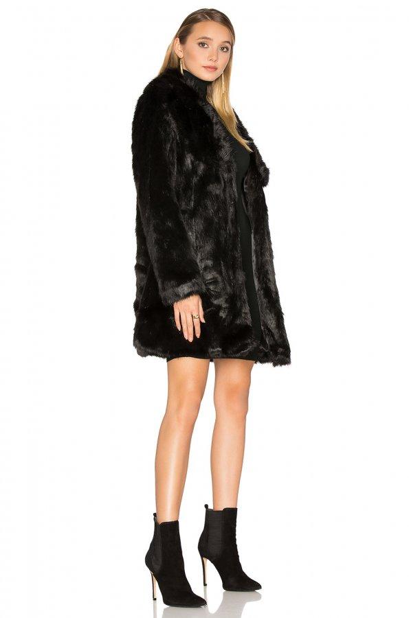 Elixir Faux Fur Coat