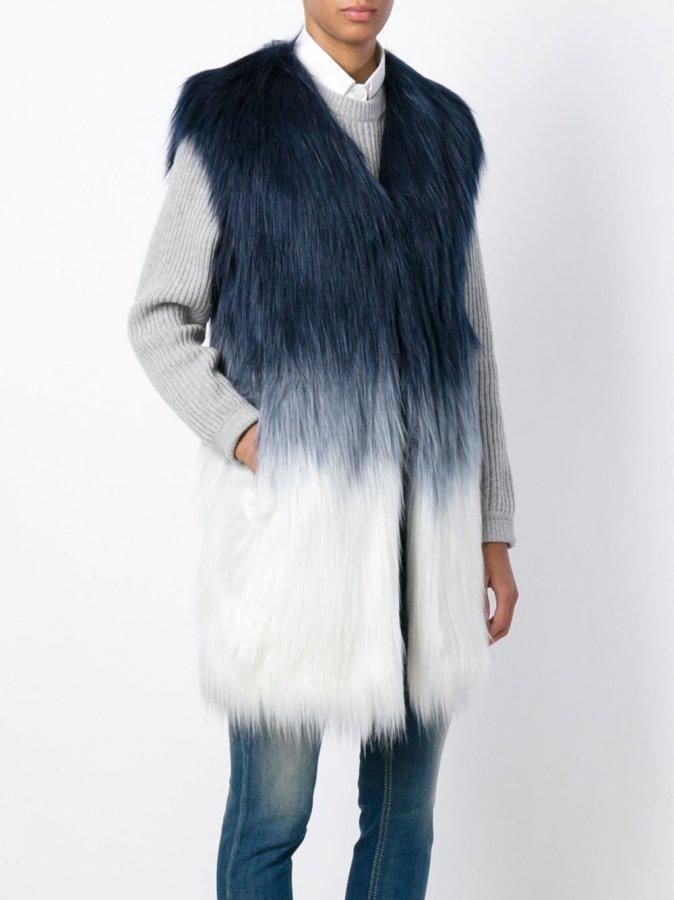 \'Ashlynn\' Faux Fur Gilet