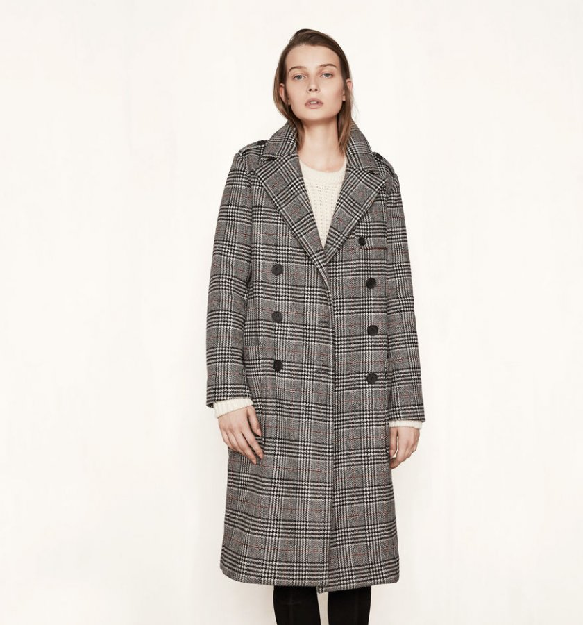GILBERT Long military-style coat