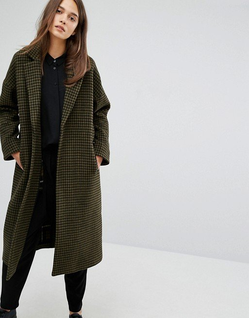 Rosie Check Coat