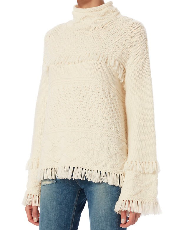 Demsey Fringe Sweater