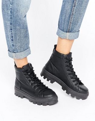 ASOS ABBITH Lace Up Boots