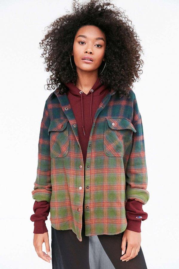 Mattie Flannel Shirt Jacket