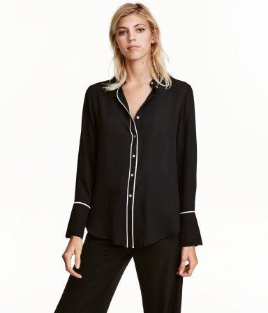 H&M Long-sleeved Blouse $19.99