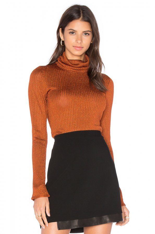 Billi Slim Turtleneck Sweater