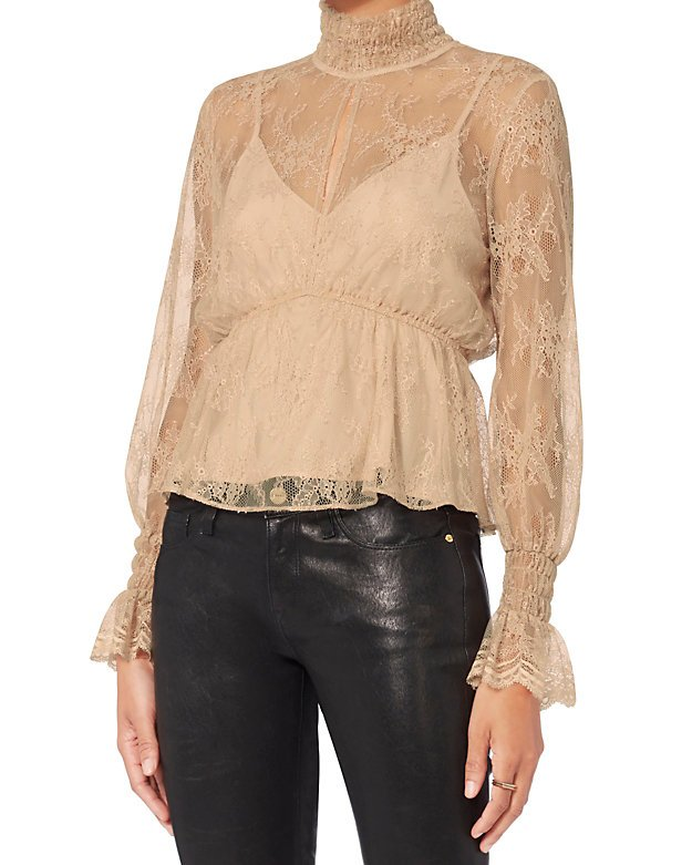 Genevieve Lace Top