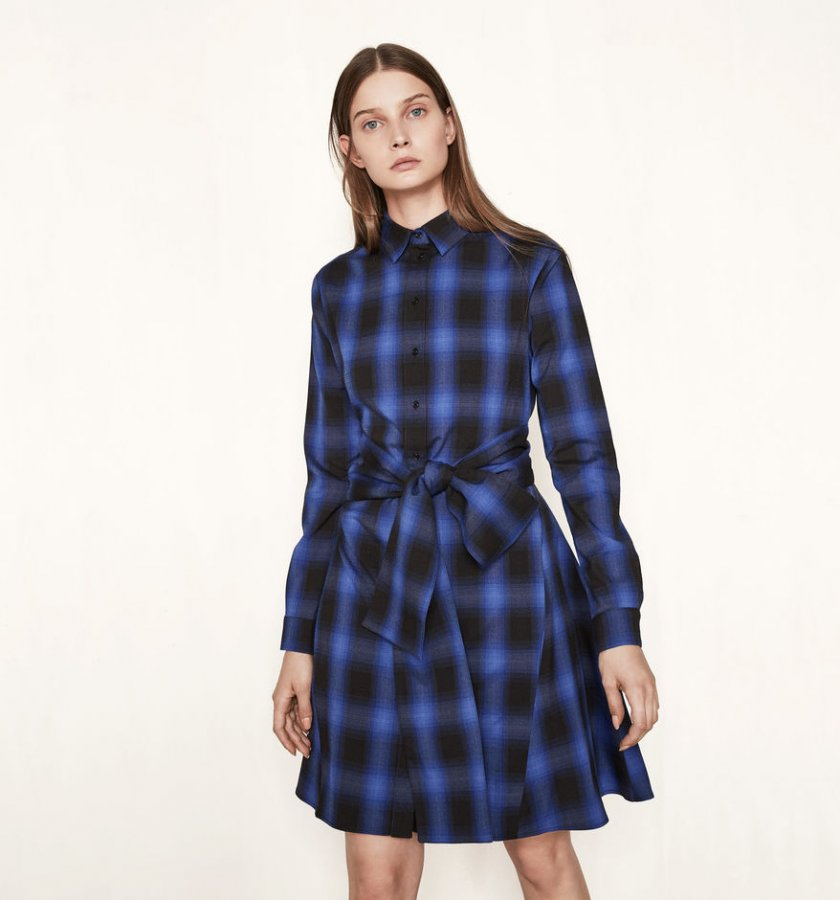 RULYL Checked shirt dress