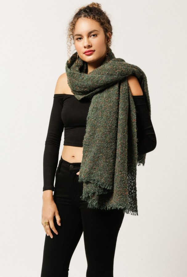 Solid Speckled Scarf