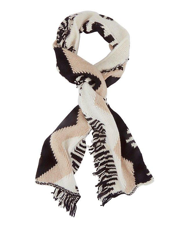 Chevron Knit Scarf