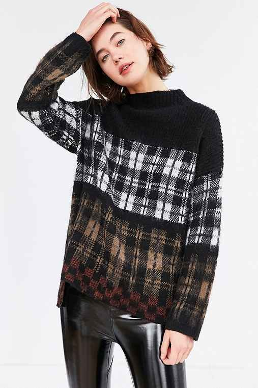 Gunner Plaid Sweater