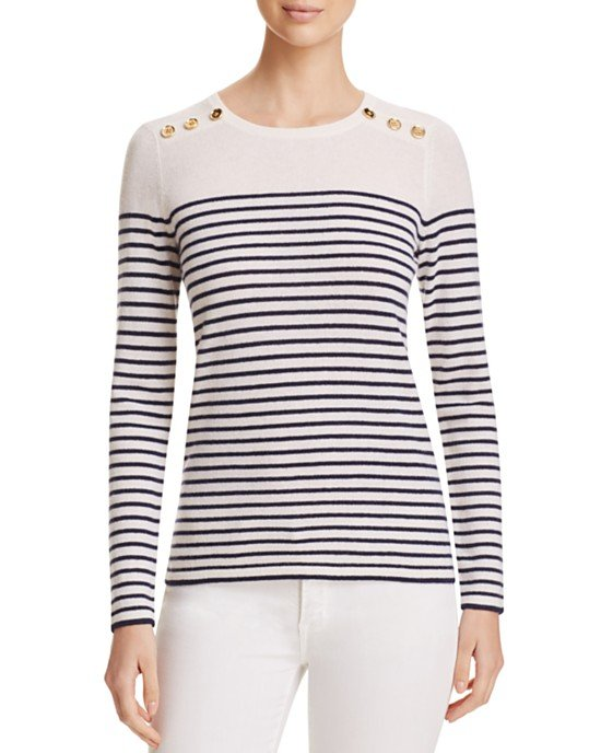 Cashmere Nautical Sweater