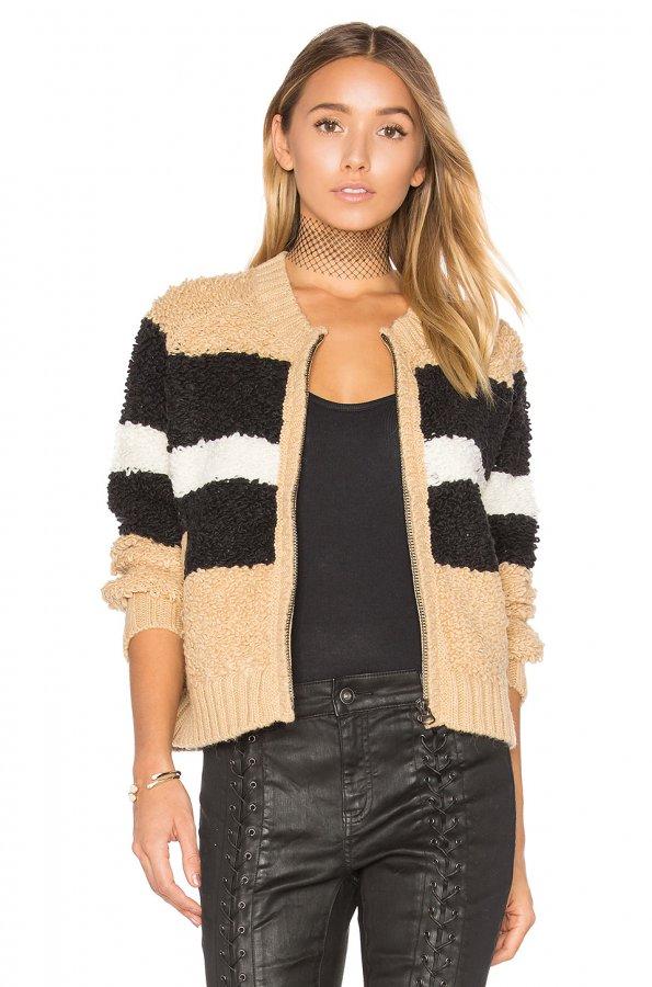 Disco Stripe Margot Sweater