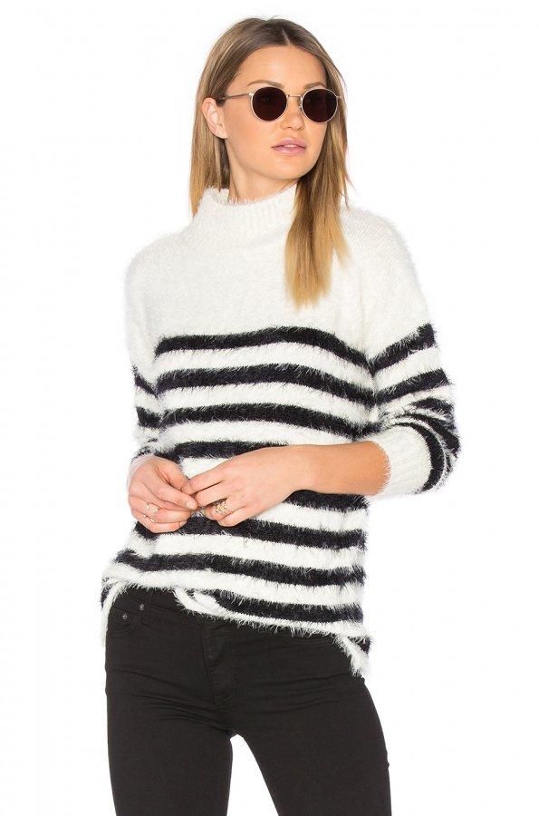 Oversized Mock Sweater