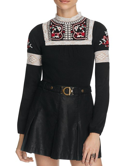 Cozy On Up Embellished Top