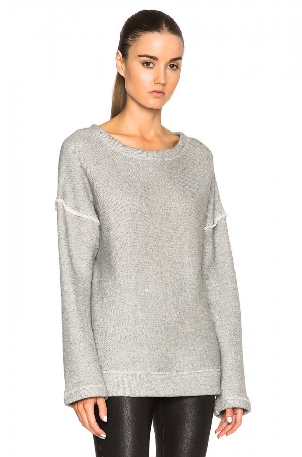 Oversized Sweater in Dark Heather