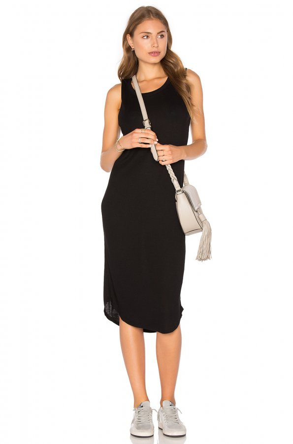 Luxe Ribbed Dress