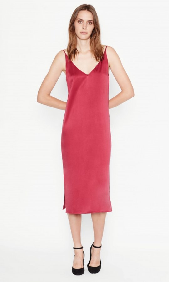 Anika Satin Slip Dress