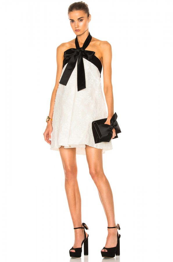 Winsome Suspend Bow Dress