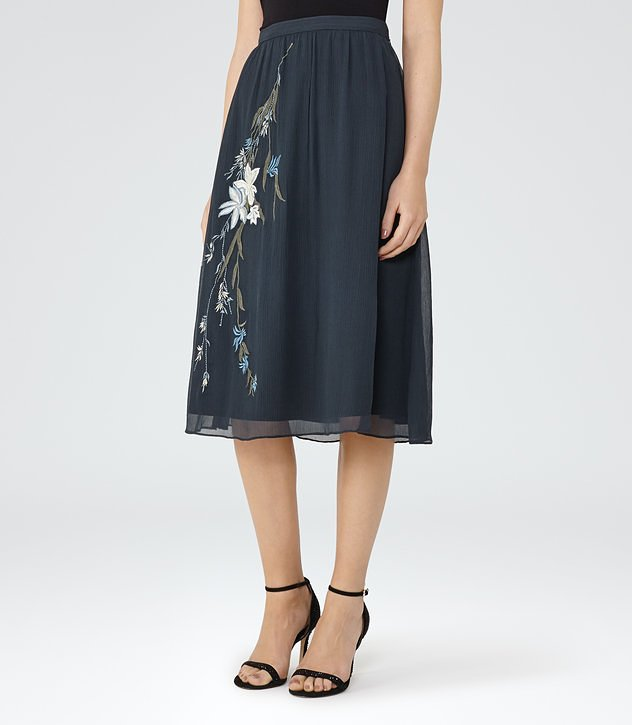 Adore Embroidered Skirt