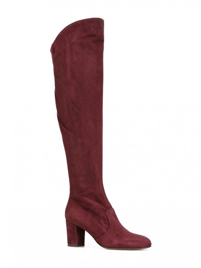 Square Heel Boots