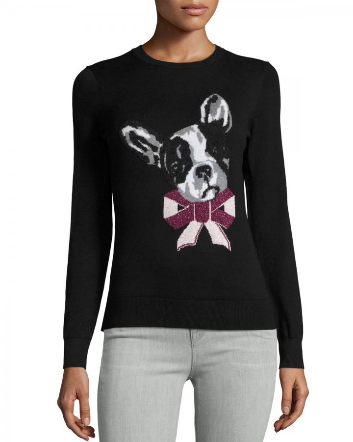 London Henie Merry Woofmas Sweater
