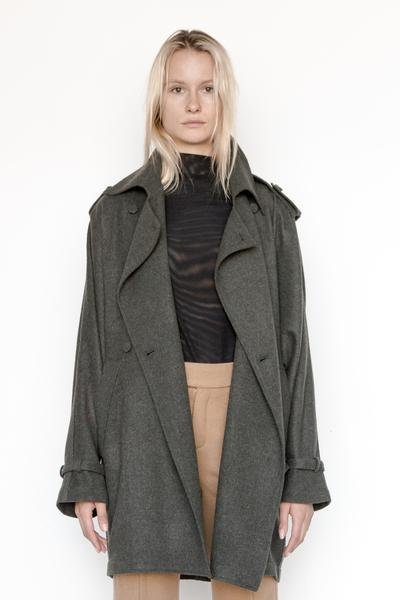 Poly Heather Oslo Trench
