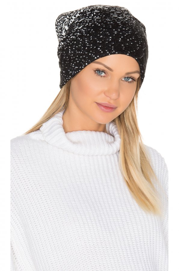 Ombre Dot Beanie