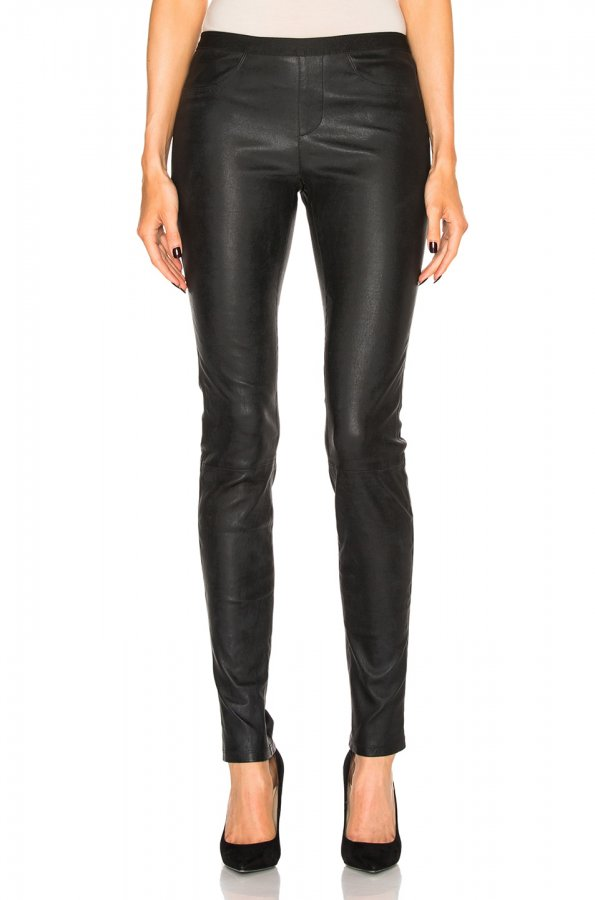 Leather Legging in Black