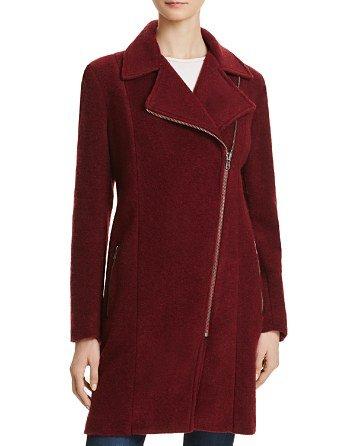 Forsyth Asymmetric Zip Coat