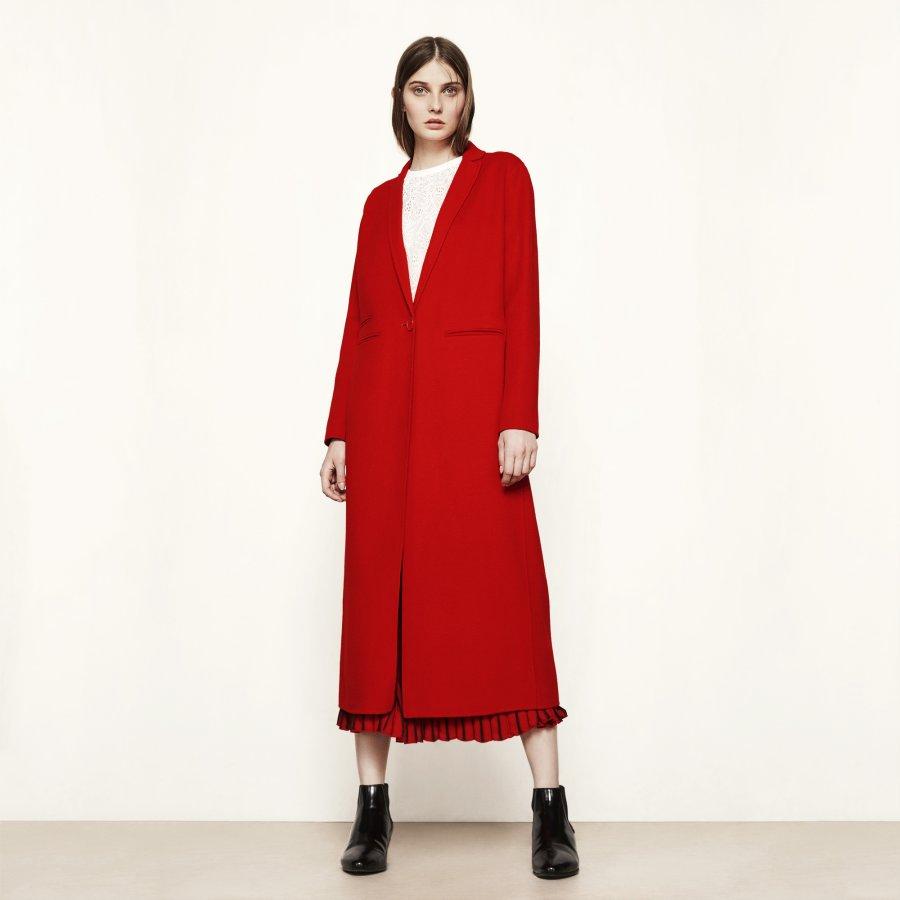 GALAXIE Long double-sided wool coat