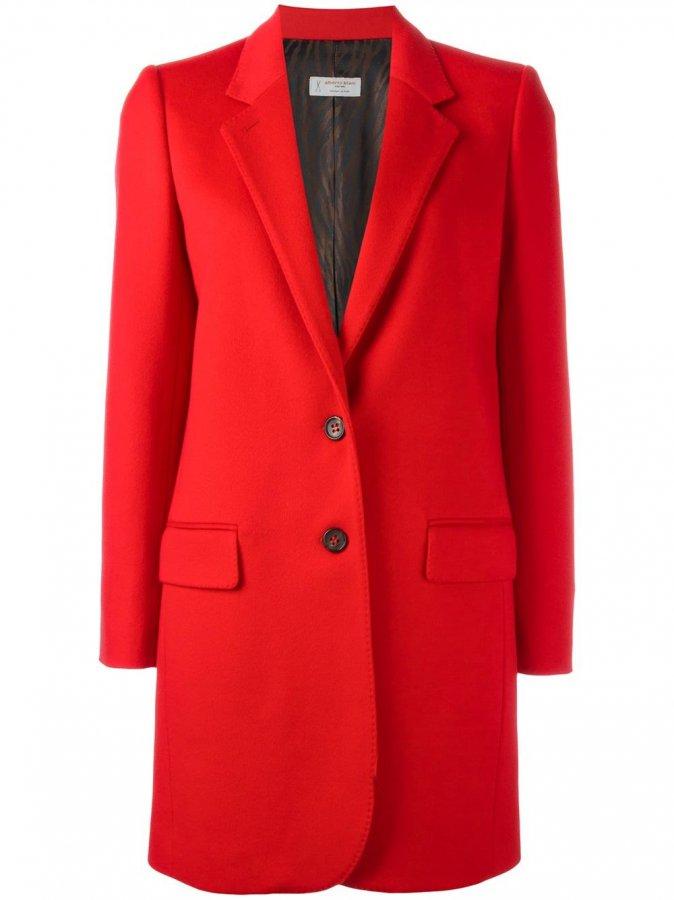 Single Breasted Mid Coat