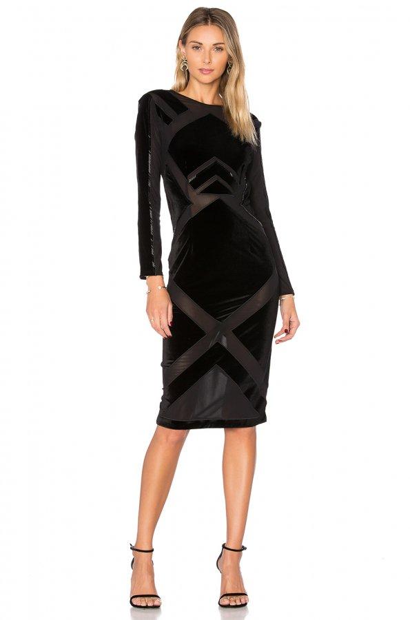 Velvet Burnout Dress