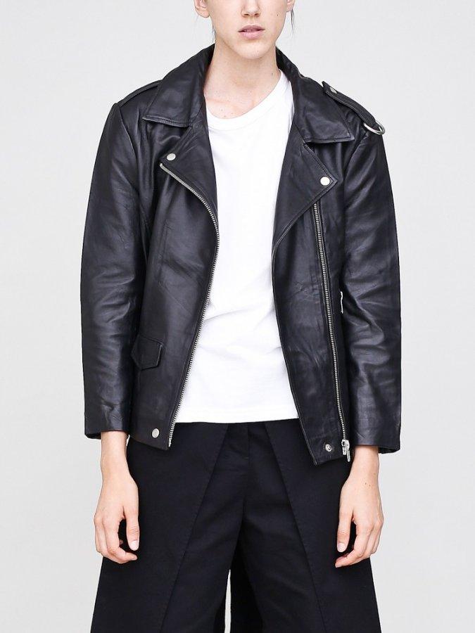 la slouch rider jacket