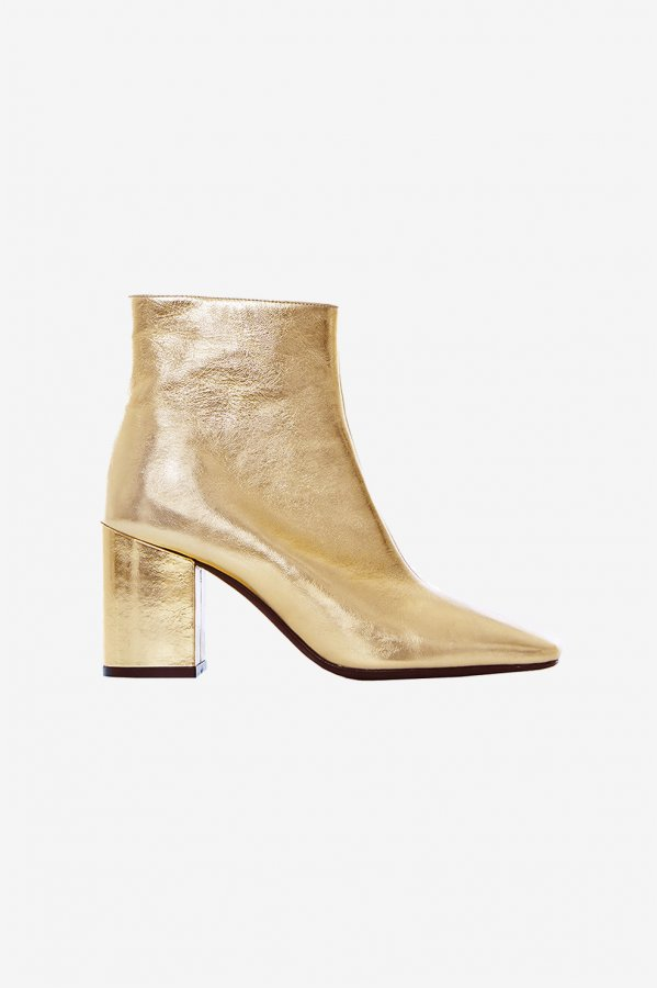 Jane Boots in Gold