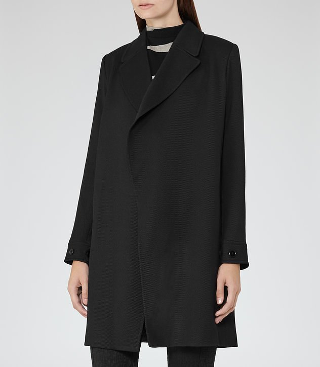 Caspian Open-front Coat