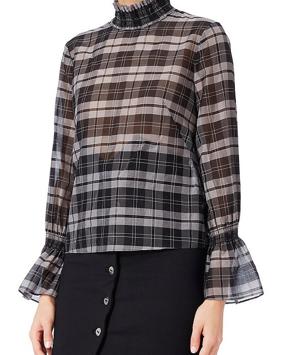 Lulu Plaid Top