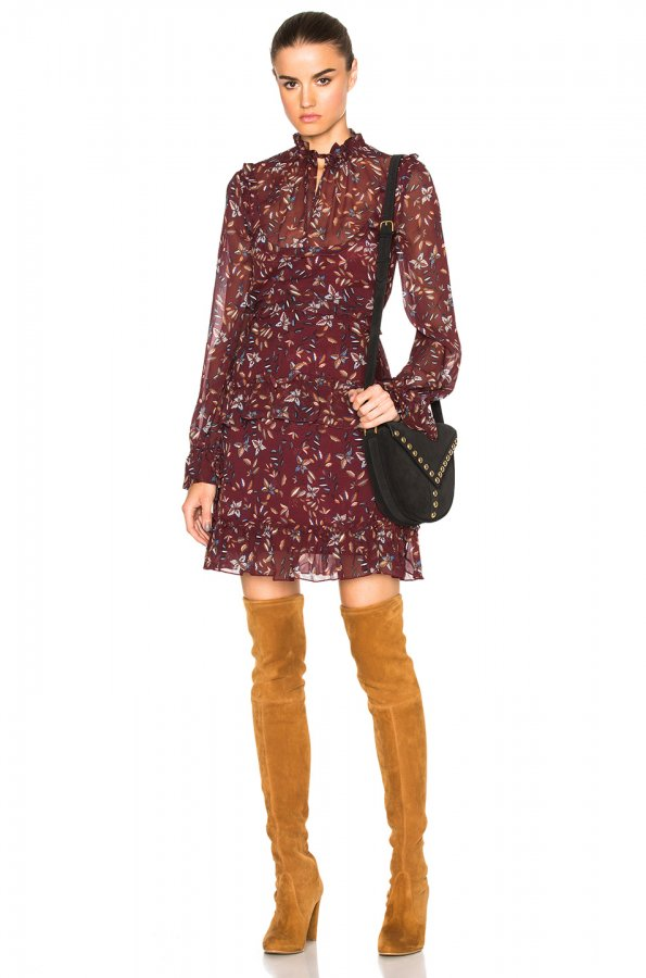 Maple Yoke Dress