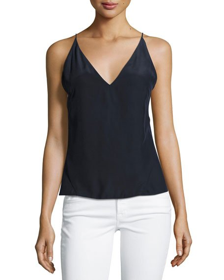 Lucy Silk Camisole Top