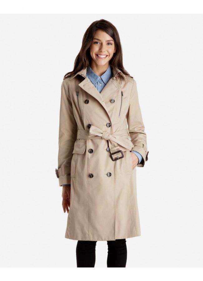Harper Heritage Trench Coat with Detachable Hood
