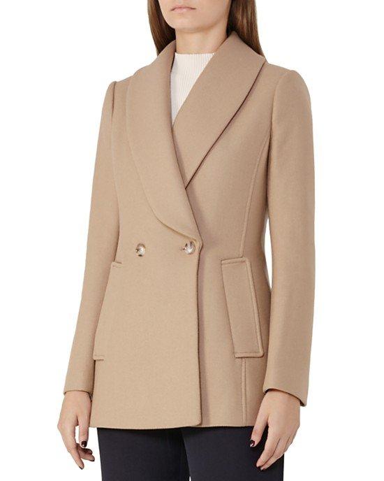 Malika Wool-Blend Coat