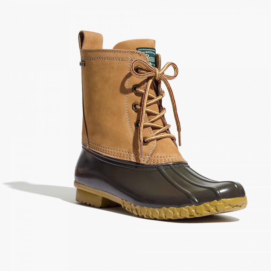 Madewell x G.H. Bass® & Co. Mallard Duck Boots