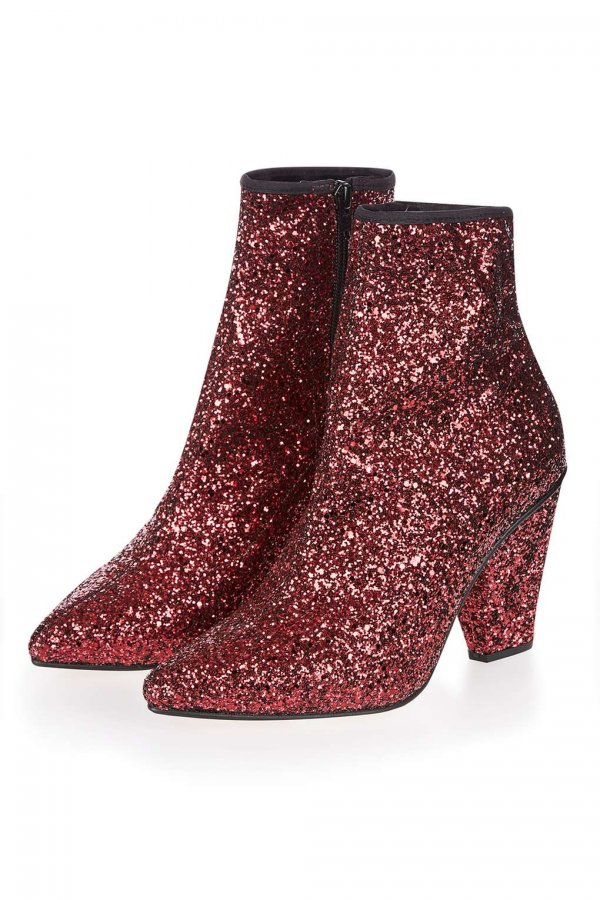 HIGH Sequin Stretch Boots