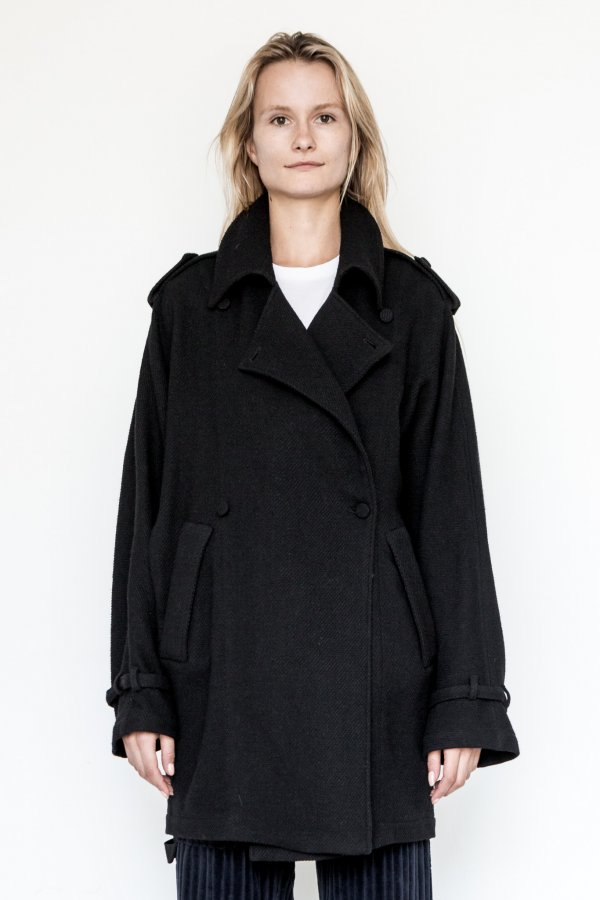 Wool/Linen Oslo Baggy Trench