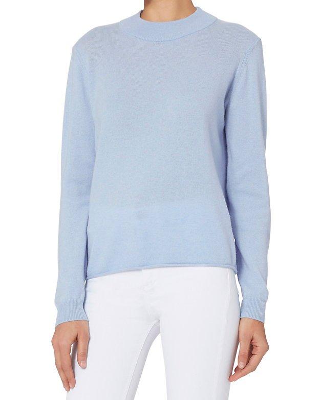 Drape Back Pullover Knit
