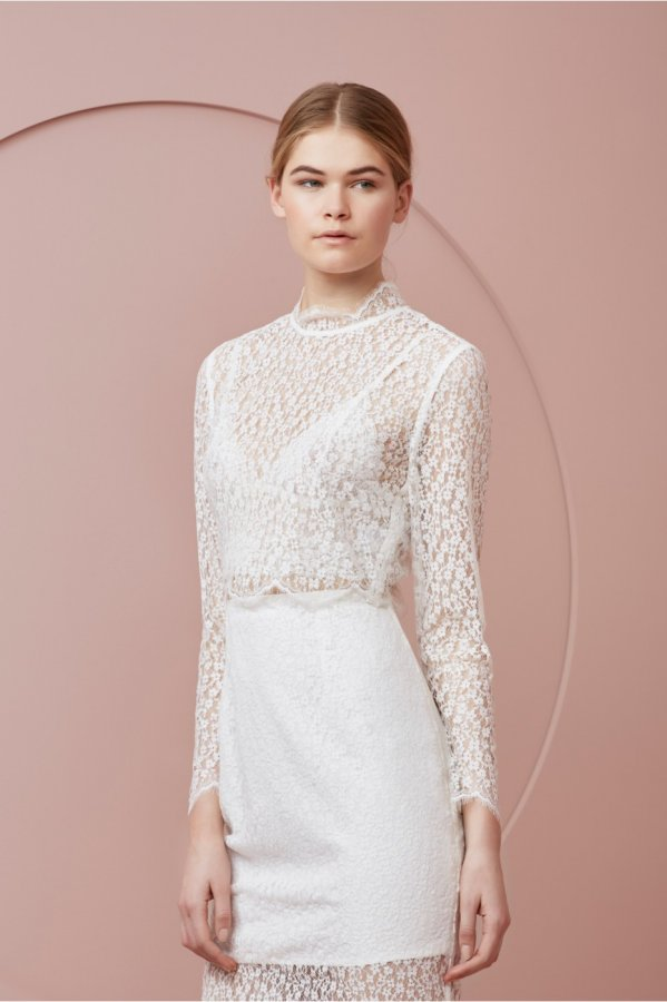 Wanderer Long Sleeve Lace Top