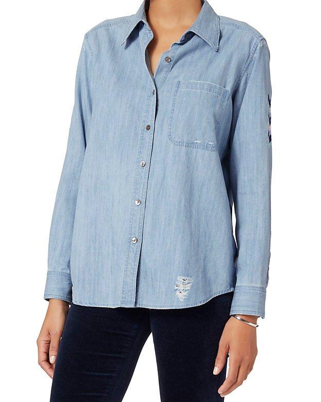 Sedona Embroidery Denim Shirt
