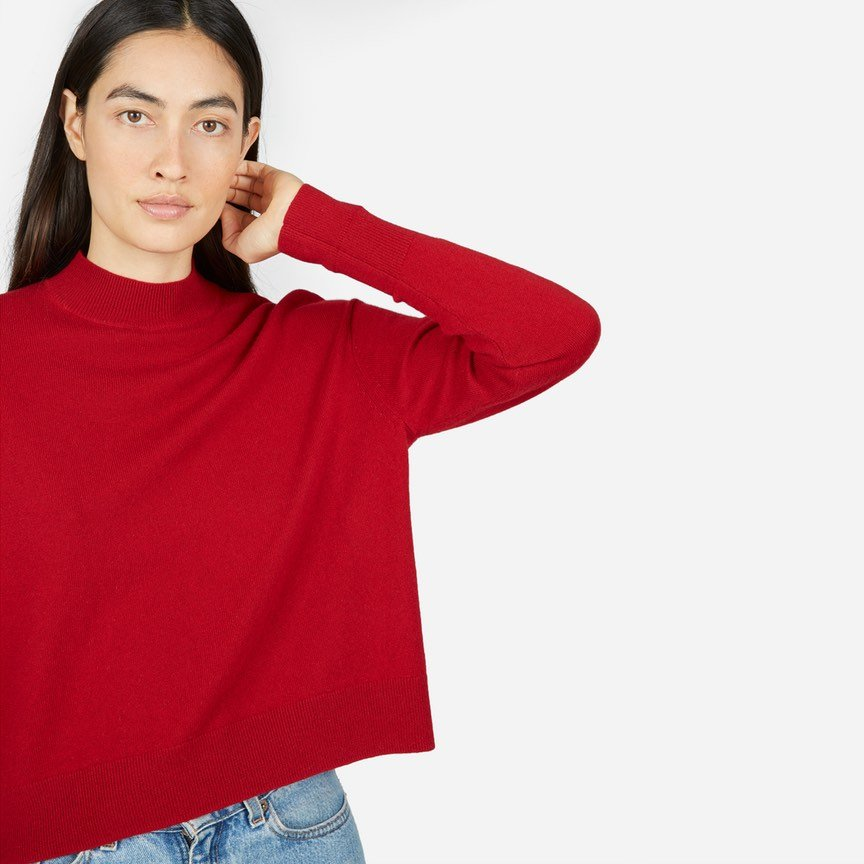 The Cashmere Crop Mockneck