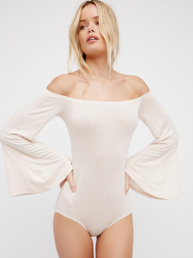 Bell Sleeve Bodysuit